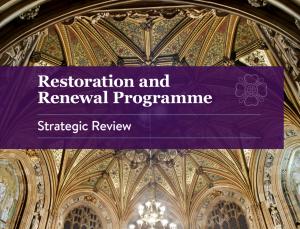 Restoration and Renewal Programme